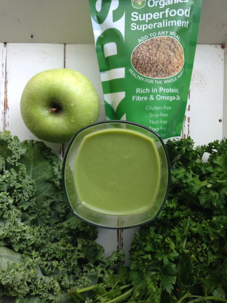 Get Me Going Green Smoothie: kale, green apple, parsley, banana, cucumber, Baby Brain Organics & ginger. Blend with coconut water or water and ice & enjoy the pure goodness.  #photooftheday #picoftheday #instadaily #food #smile #family #baby #yummy #yum #healthysmoothie #kidsmoothie #kidrecipe #fruitsmoothie #vegan #glutenfree #rawfood #dairyfree #brainfood #brainfoodforkids #smoothie #protein #omega3s #vitamix #recipe #superfood