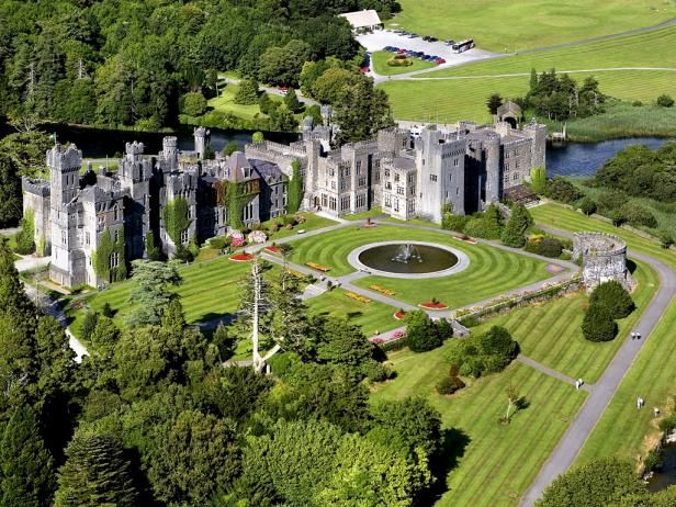 Do something different and plan a honeymoon to Ireland! The green landscapes and huge castles will mesmerize you.