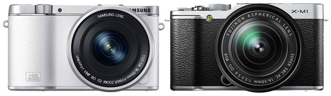Samsung NX3000 vs. Fujifilm X-M1