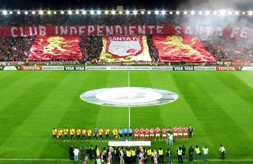 Club Independiente Santa Fe  (Copa Libertadores 2014 vs Morelia)