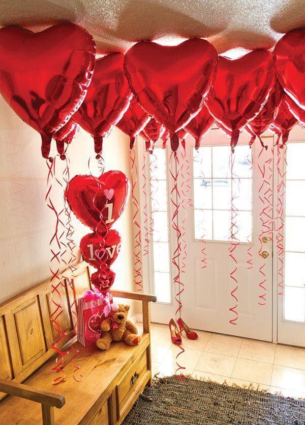 Como Sorprender A Tu Pareja Este 14 De Febrero Regalos Para Novios Regalos Pa Bricolaje Del Día De San Valentín Ideas Del Día De San Valentín Globos Para Boda