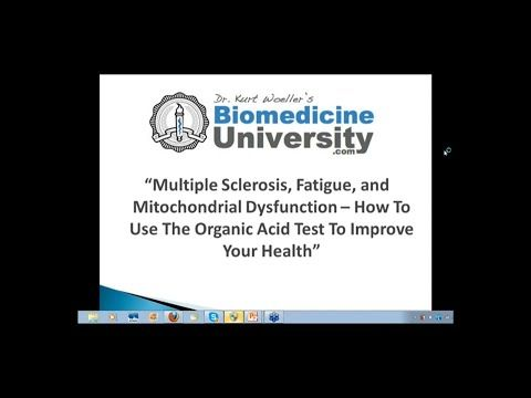 Multiple Sclerosis Fatigue and Mitochondrial Dysfunction - How to Use the Organic Acid Test  The Great Plains Laboratory      |   YouTube