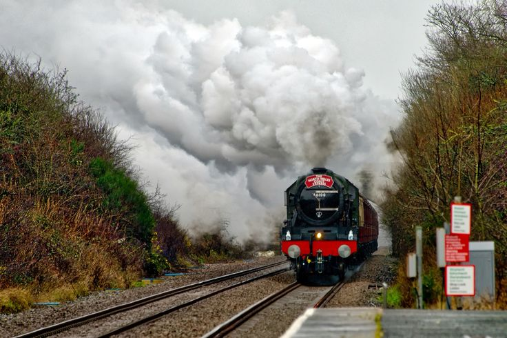 The Royal Scot on Anglesey