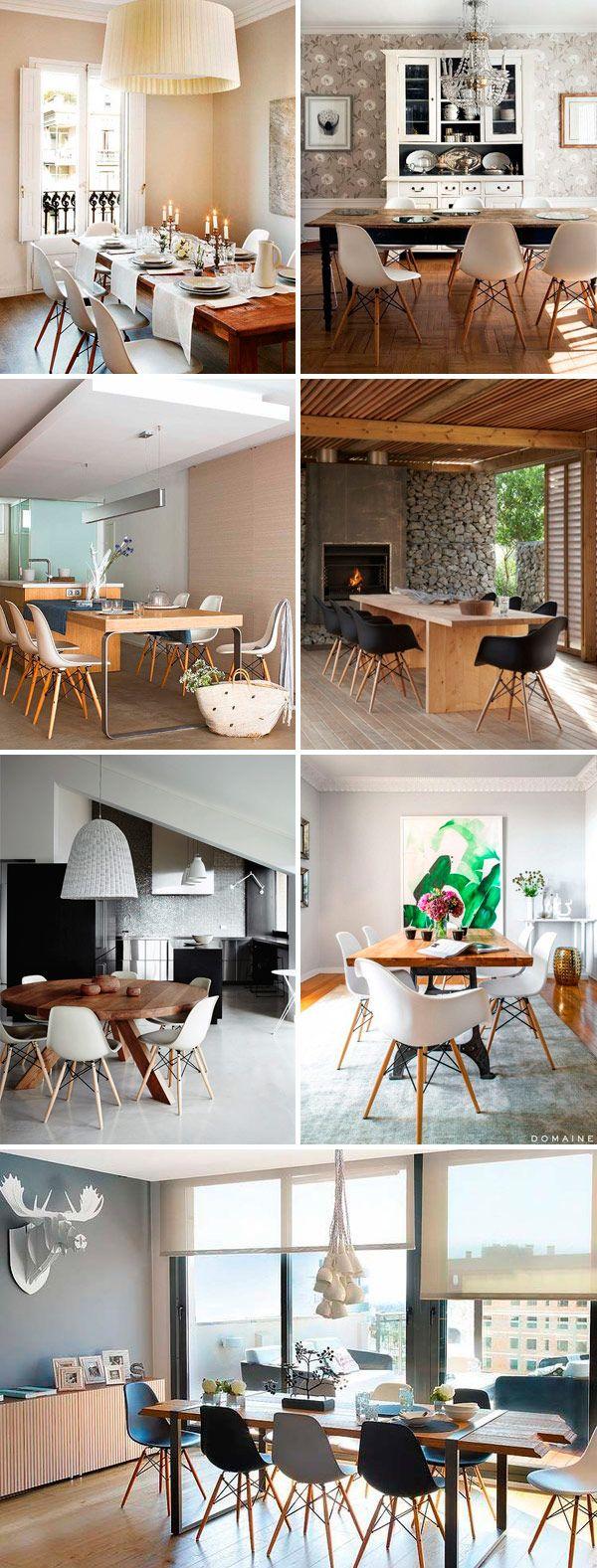 decoracao-sala-jantar-cadeira-eames-mesa-madeira