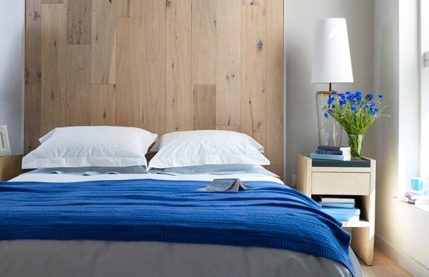 how to make a headboard from laminate flooring 3