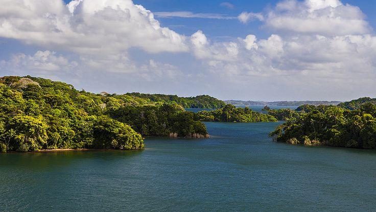 Panama Canal | Gatun Lake | World Cruise 2014