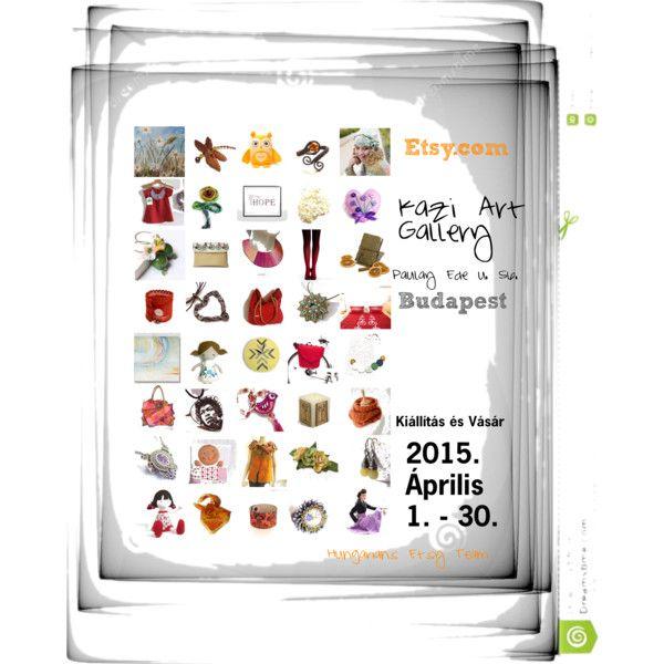 Kiállítás Kazi Art Gallery by erika-hodi on Polyvore featuring art and hetsellingevent