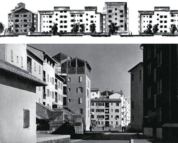 1949-54 Ridolfi, Quaroni et al. Quatiere Tiburtino, Roma
