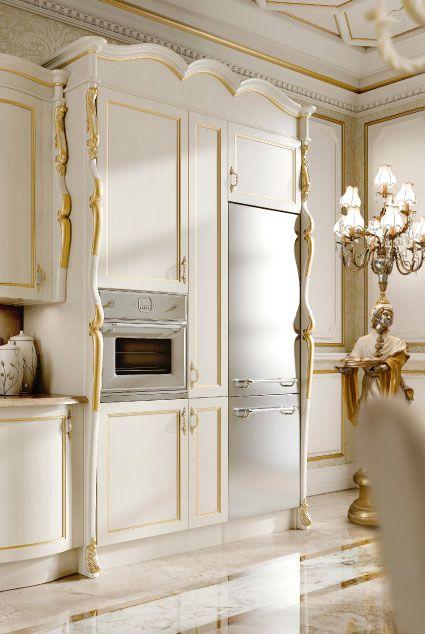 Classic Italian Luxury Kitchen Furniture. Andrea Fanfani Italy.