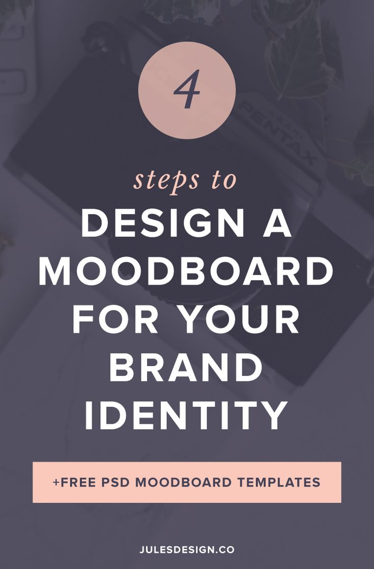 4 steps to design a moodboard for your brand identity. Free Photoshop PSD moodboard templates.Your moodboard represents how you want your brand, to look and feel, to those who interact with it. After completing your moodboard, you'll have a better understanding of the strategy behind your brand. You will also know exactly what colors, fonts, and overall design aesthetic you want to pursue.