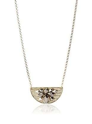 60% OFF Sandy Hyun Mixed Metal Necklace, One Size