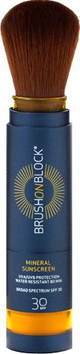 Brush On Block SPF 30 Mineral Powder Sunscreen with FREE shipping