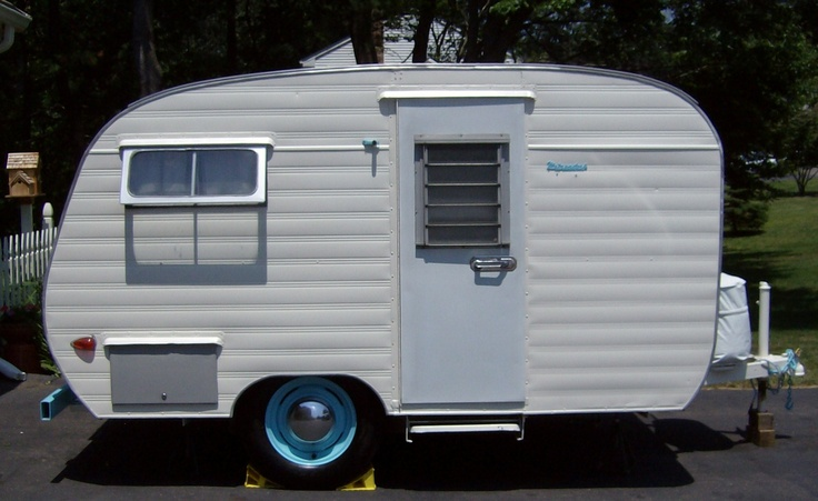 Restored Vintage Camper Travel Trailer 1960s Metzendorf