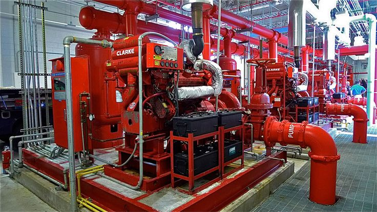 Fire Standpipe, Hydrant and Sprinkler System | Symantec Technology ...