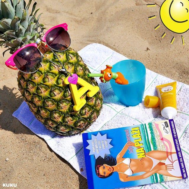 Dovolenková sezóna už o chvíľu začína☀️Tak si ma nezabudnite pribaliť so sebou YellowⒶ #ilovekuku #kukuholiday #beachtime #bioderma