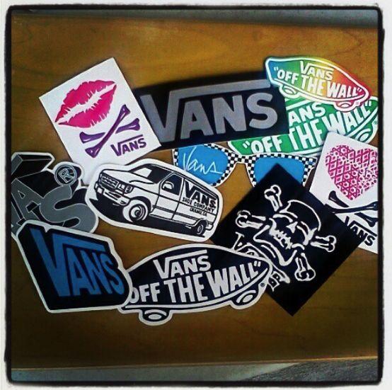 Картинки по запросу vans stickers