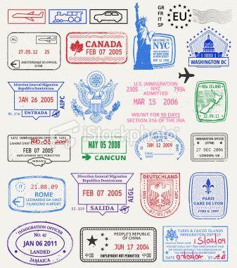 Jada Vintage postage stamp