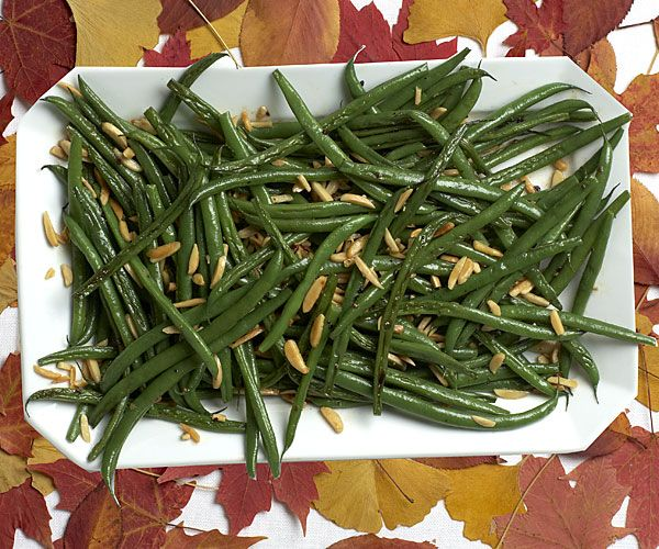 Green Beans with Almonds and Garlic recipe