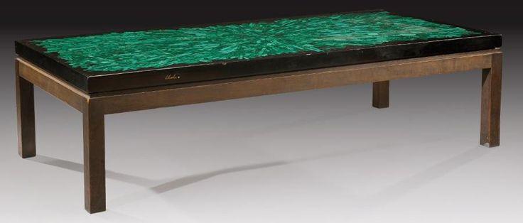 Les 25 meilleures id es de la cat gorie plateaux de table - Table mosaique rectangulaire ...