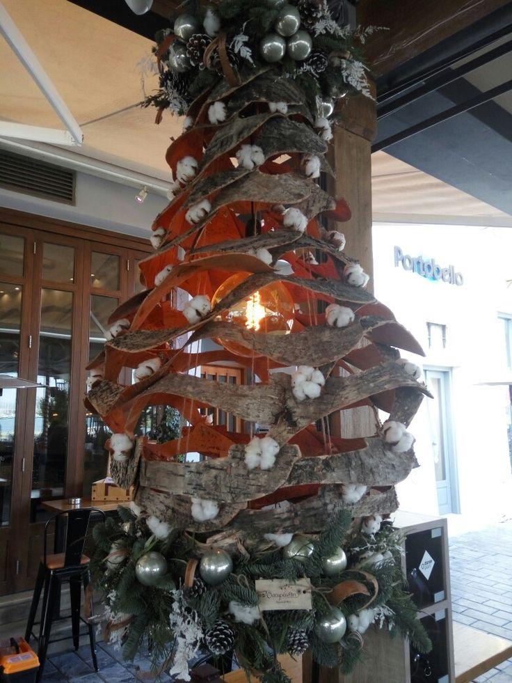 #christmas #chantelier #store311 #alldaybar #decoration by #flowershop #oneiranthi #rethymno #crete #greece