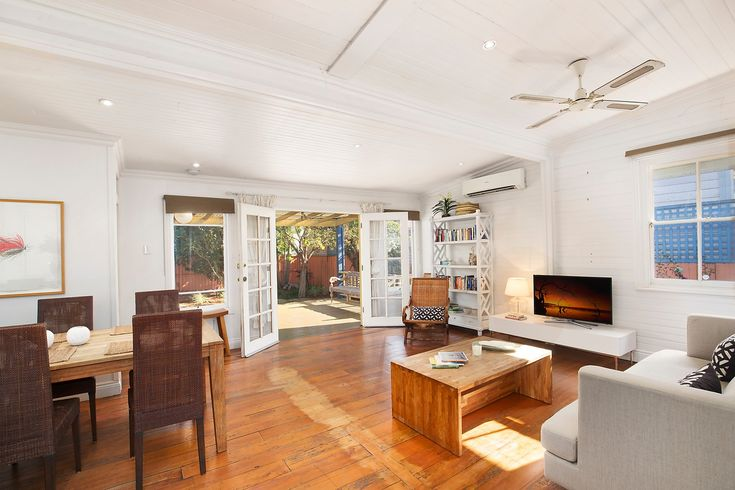 Character home on two titles with sunny garden, spacious living, flows to undercover deck, 260 Elswick Street Leichhardt, Pilcher Residential