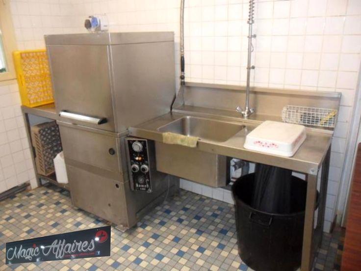Ligne de plonge Lave vaisselle a capot plonge douchette 1 bac table de sortie inox magic affaires KOMEL K808 - AGENCEMENT MAGASIN COMMERCE BOUTIQUE MATERIEL RESTAURATION BUREAU/AGENCEMENT BAR RESTAURANT PIZZA BISTROT - magic-affaires-22