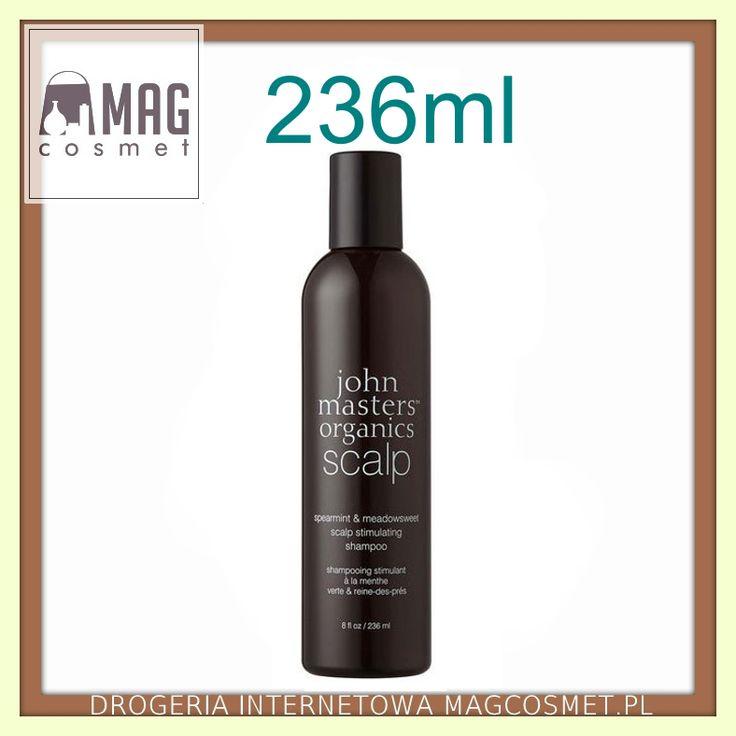 John Masters Mięta i Wiązówka Błotna Szampon do Włosów Wypadających i Osłabionych 236ml Pielęgnacja włosów - szampony naturalne