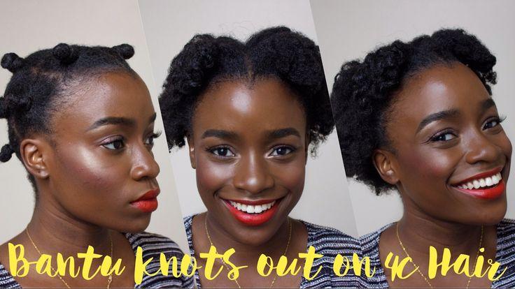 Natural Hair Styles Bantu Knots: 17 Best Ideas About Bantu Knots On Pinterest