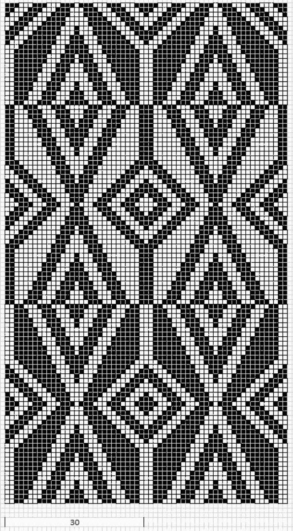 36 besten mosaik muster bilder auf pinterest mosaik muster strickmuster und anleitungen. Black Bedroom Furniture Sets. Home Design Ideas
