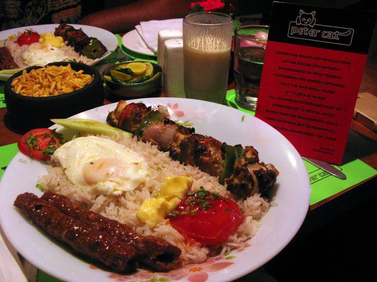 #MyWayOnHighway: Day 57, Delicious kebab platter in #Kolkata #food #India