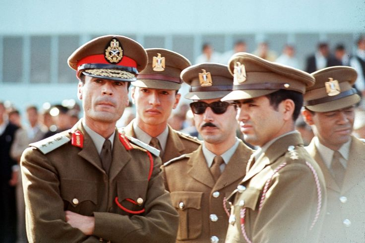 Col. Muammar Gaddafi in 1969, the year he rose to power in Libya.