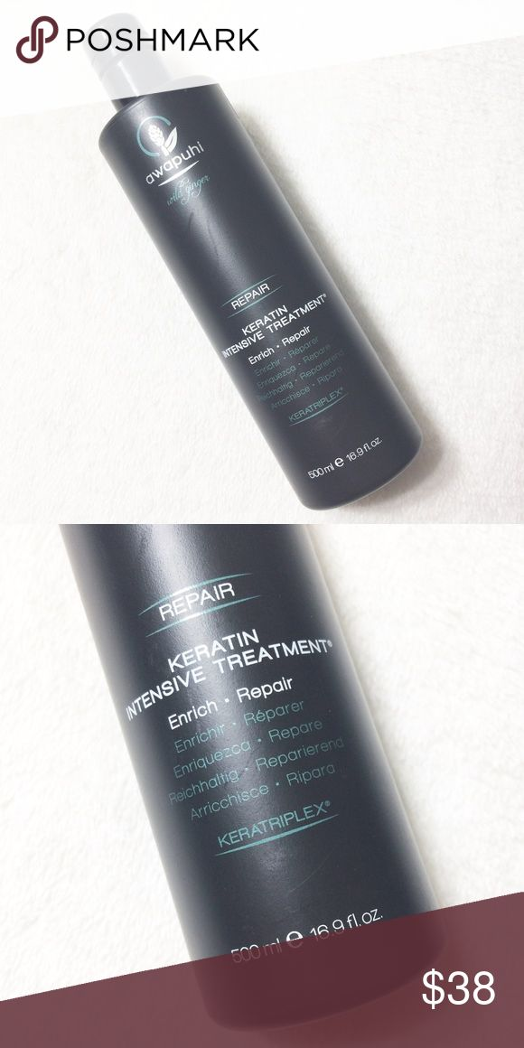 Awapuhi Ginger Keratin Intensive Treatment Awapuhi Ginger Keratin Intensive Treatment by Paul Mitchell 16.9 oz. New and never used!! No trades, thanks! Other