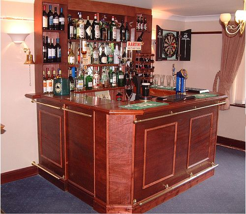 Alcohol Bar For Home: Home Bar. Sans Alcohol. Add Mtn Dew And Sparkling Grape