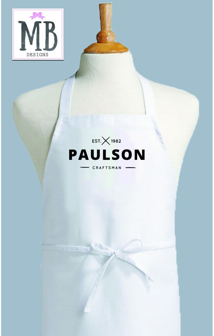 Fantastic 18 best Monogram Aprons images on Pinterest | Chef apron, Custom  CS42