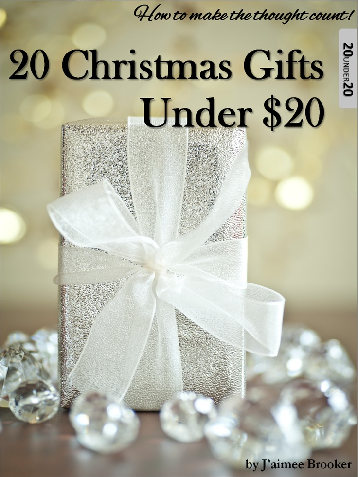 Christmas on a budget? Too easy!  20 Christmas Gifts under 20 is the solution!