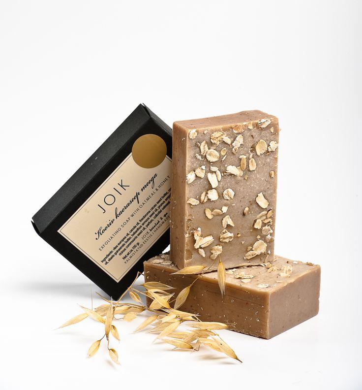 Oat & Honey soap by JOIK  www.sofiastore.fi