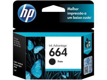 Cartucho de Tinta HP Preto - 664