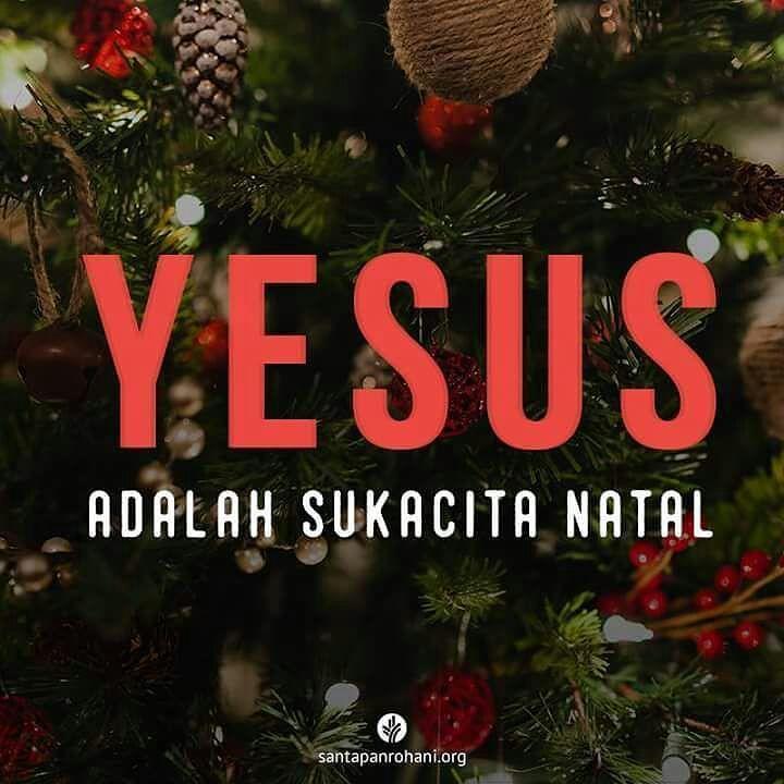 Yesus Tuhan adalah sukacita natal #Marikitabelajar