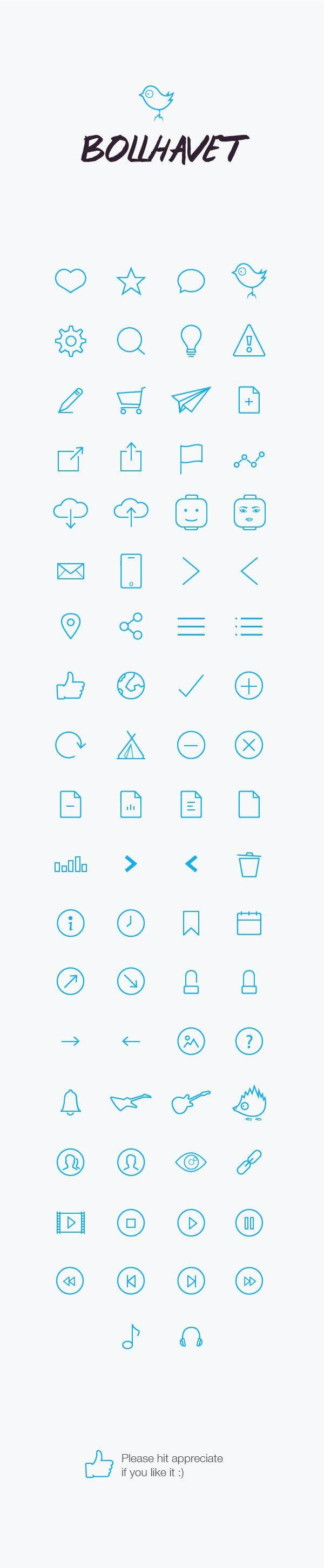 https://www.behance.net/gallery/18922535/Bollhavet-Icon-Package  #icons