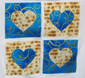 different Jewish craft projects
