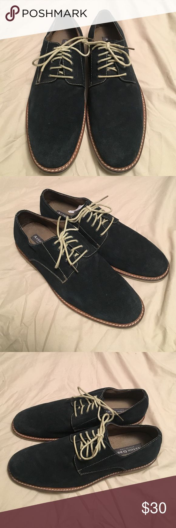 Navy Suede shoes from Aston Grey Navy suede shoes from Aston Grey, size 9, Light wear, condition is good Aston grey Shoes Oxfords & Derbys