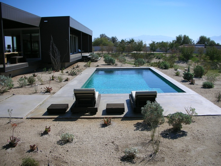 140 best palm springs images on pinterest palm for Pool house modulare