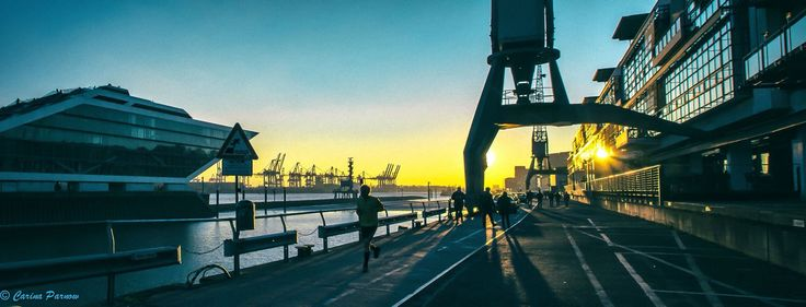 Dockland Hamburg. Spring is in the Air.