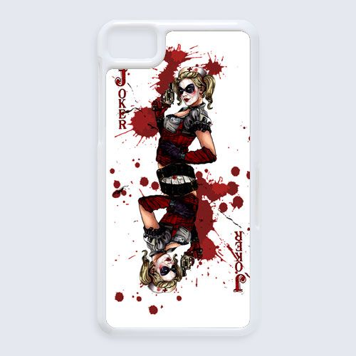 harley quinn character in batman for blackberry Z10 case $16.89 #etsy #Accessories #Case #cover #CellPhone #BlackBerryZ10 #BlackBerryZ10case #BlackBerry #villainsofbatman #comic #superhero #Darkknight #moonknight #BatmanOrigins
