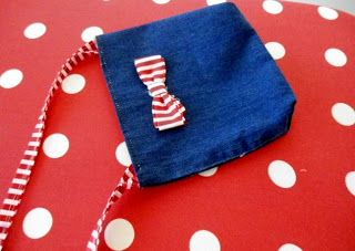 Sewing Patterns for Girls Dresses and Skirts: Recycled Sling Bag from Old Jeans, Easy Bag Making Tutorial, How to Sew a Bag from Old Jeans