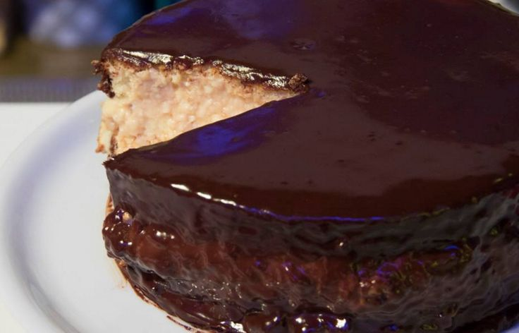 Ricette+Francesco+Saccomandi:+Boston+cream+pie+la+golosa+torta+alla+crema