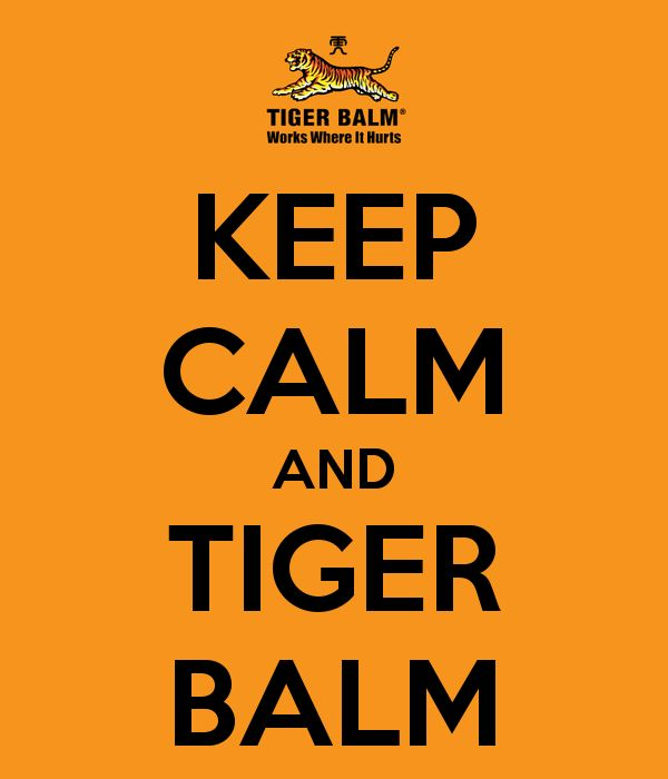 6f77ffab254dd42f84da6cbacb92e861 tiger balm tigers 123 best etc images on pinterest tiger balm, exercise routines