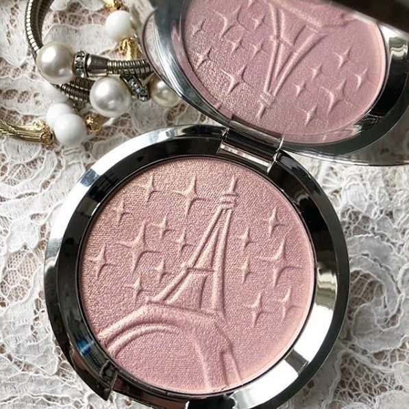 """60 Likes, 2 Comments - MakeupFOMO (@makeup.fomo) on Instagram: """"@beccacosmetics X @sananas2106 launched today! This beautiful #ParisianLights highlighter!…"""""""