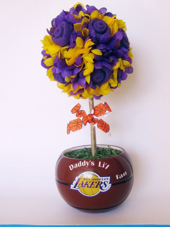 Basketball Topiary, Baby Shower Gift/ Table Decoration, New Parent  Basketball Gift, Basketball Baby Gift, Unique New Parent Basketball Gift