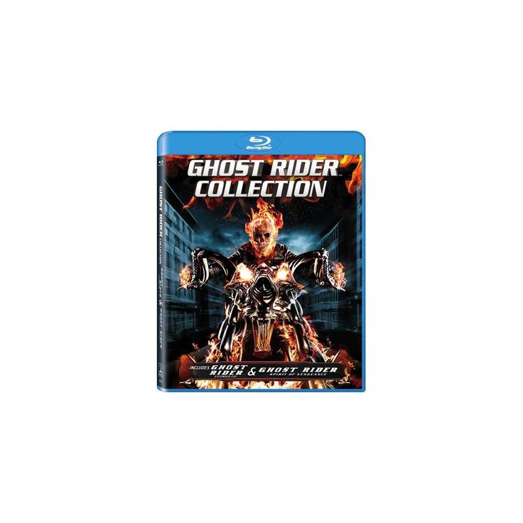 Ghost Rider / Ghost Rider Spirit of Vengeance (Blu-ray)